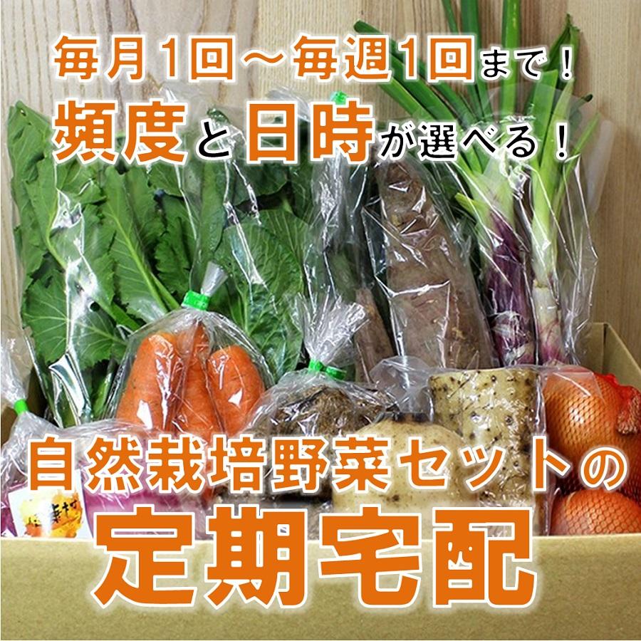 自然栽培野菜セットの定期宅配